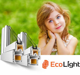 Профиль пластиковых окон EcoLight