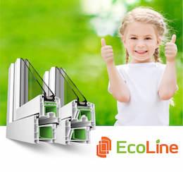 Профиль пластиковых окон EcoLine